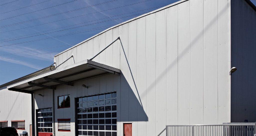 Montagehallen Erweiterung in Aßlar