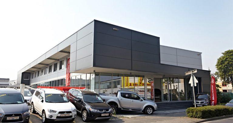 Verkaufshalle in Bonn