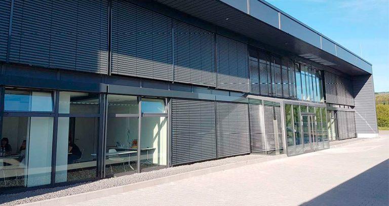 Ausstellungshalle in Duisburg