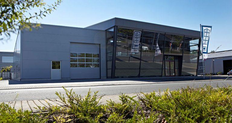 Ausstellungs-, Verkaufs- und Lagerhalle in Sonsbeck