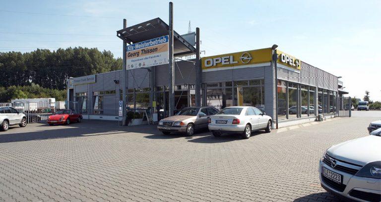 Lagerhalle und Verkaufshalle in Straelen