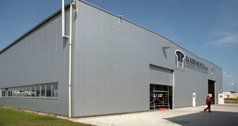Produktionshalle in Kempen zur Metallverarbeitung