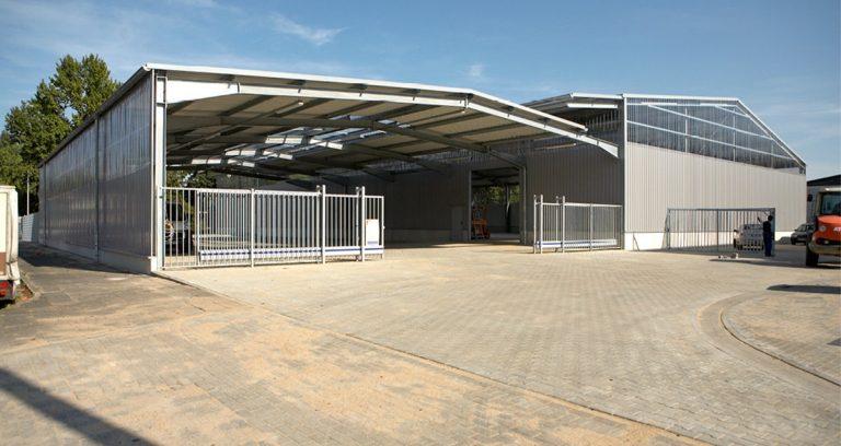 Lagerhalle in Krefeld für einen Baumarkt