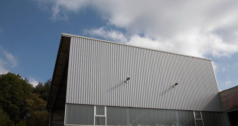 Papierlagerhalle in Linden