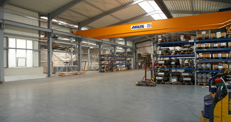 Montagehalle und Lagerhalle in Neuss für Metallverarbeitung