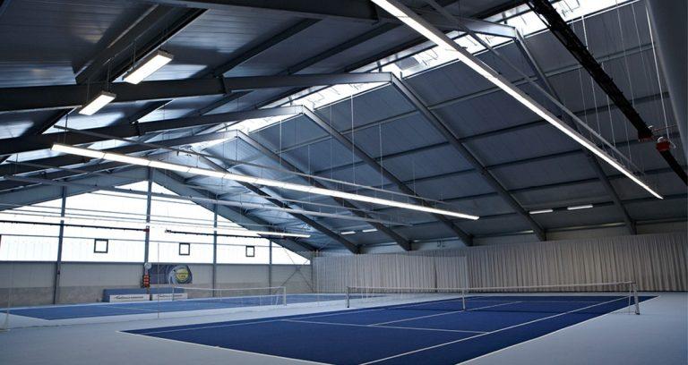 Tennishalle in Niederzier