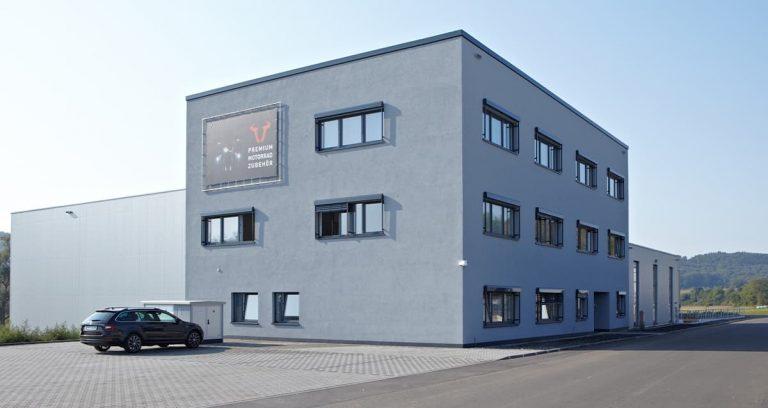 Logistikzentrum mit Bürogebäude in Rauschenberg