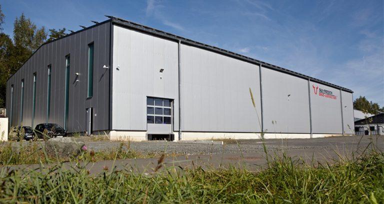 Neubau einer Lagerhalle in Rauschenberg