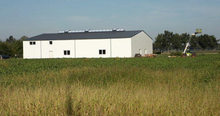 Werkstatthalle in Wachtendonk für Landmaschinen