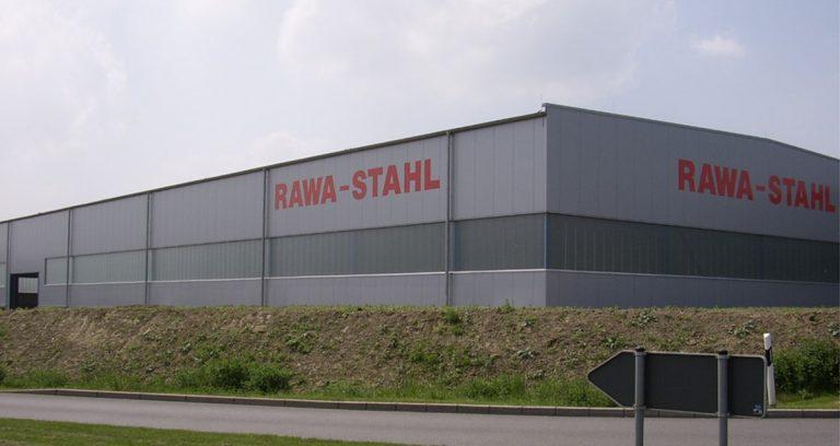 Lagerhalle für einen Spezial-Stahlhändler in Wülfrath